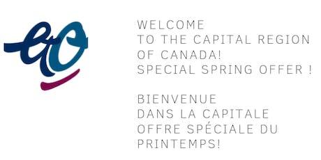 Free Walking Tour Ottawa, Canada's Capital in English. Visite guidée à pied en français de la Capitale du Canada(Sans Frais) tickets