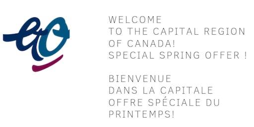 Free Walking Tour Ottawa, Canada's Capital in English. Visite guidée à pied en français de la Capitale du Canada(Sans Frais)