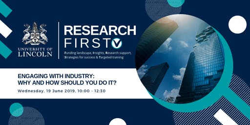 Engaging with Industry:  Why and how should you do it?   Research First