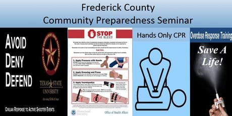 July 13 Emergency Preparedness training tickets