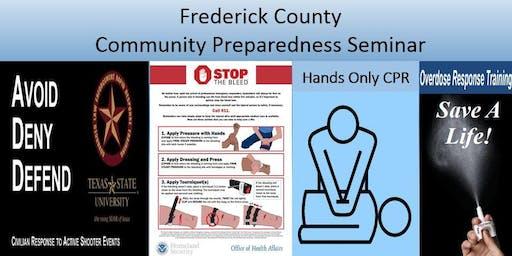 July 13 Emergency Preparedness training