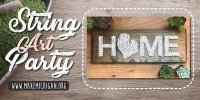 Ladies Night Out String Art Party - Richland