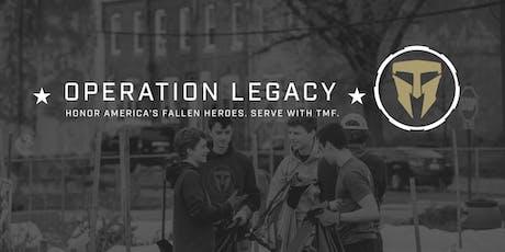 Operation Legacy Cpl Philip D. McGeath & SSgt Bryan A. Burgess tickets