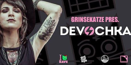 Grinsekatze present / Devochka Tickets