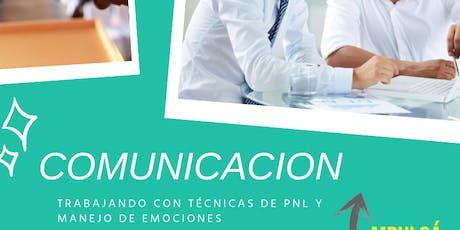 COMUNICACION CON PNL entradas