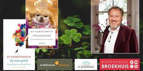 Een avond vol geluk met Ap Dijksterhuis tickets