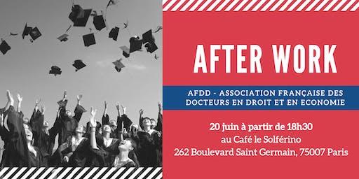 AfterWork / Doctorat en Droit / échanges & convivialité