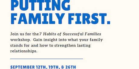 7 Habits of Successful Families Series tickets