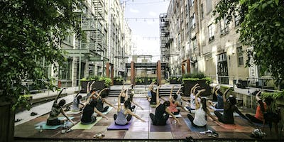 Free Outdoor Yoga : IC Courtyard Rec
