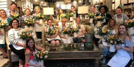 Flower Arranging Class at Sugarboo (Northpoint Mall)