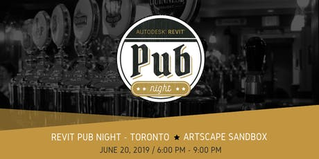 Revit Pub Night - Toronto tickets