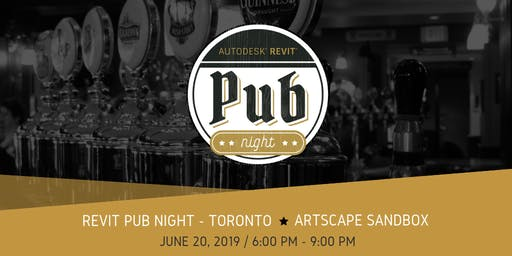 Revit Pub Night - Toronto