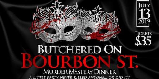 Murder Mystery Dinner Fundraiser