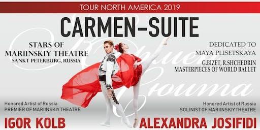 "BALLET ""CARMEN SUITE"" - STARS OF MARIINSKIY THEATRE, in Toronto"