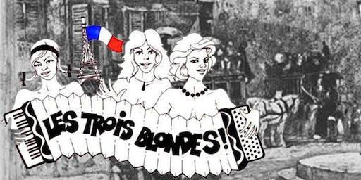 Richard Dennis Concert - Les Trois Blondes