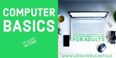 Computer Basics @Lehigh Senior H.S. 10/8-10/12