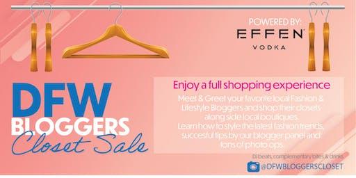 DFW Bloggers Closet Sale