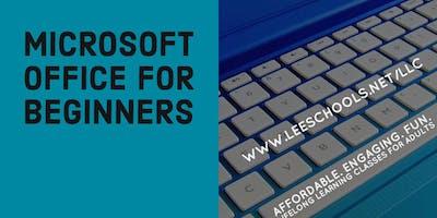 Microsoft Office @Lehigh Senior H.S.  8/22-9/26
