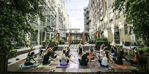 Free Outdoor Yoga : IC Courtyard Rec