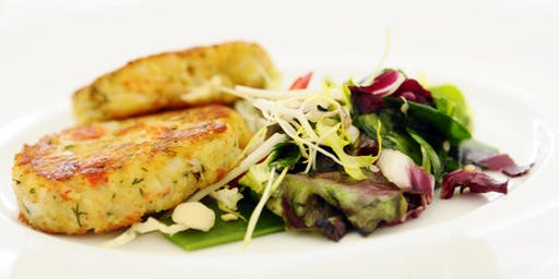"""The Vegan Skillet Cooking Class: """"Crab"""" Cakes"""