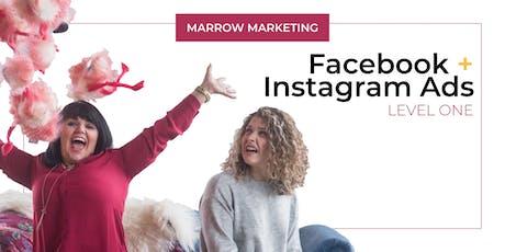 Facebook + Instagram Ads Level One tickets