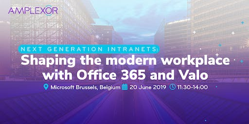 Next generation intranets: shaping the modern workplace with Office 365 and Valo