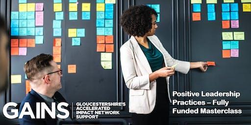 GAINS Masterclass: Positive Leadership Practices