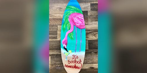 Flamingo: Essex, Crazy Tuna with Artist Katie Detrich!