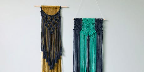 Wine'd Down Workshop: Macrame Wall Hanging tickets