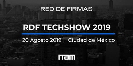 RDF Techshow 2019 boletos