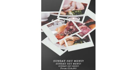 SUNDAY SET MENU tickets
