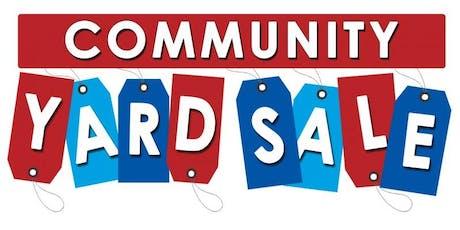 Community Yard Sale tickets