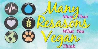 Many Reasons Vegan, Tue., 6/25/19
