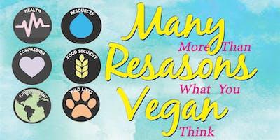 Many Reasons Vegan, Tue., 6/25/19