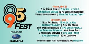 895 FEST:  Single-Day Ticket for FRIDAY, May 31st