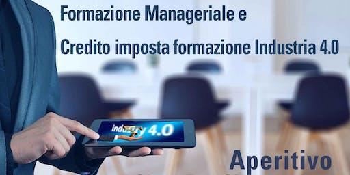 Aperitivo: Formazione Manageriale e Credito imposta formazione Industria4.0