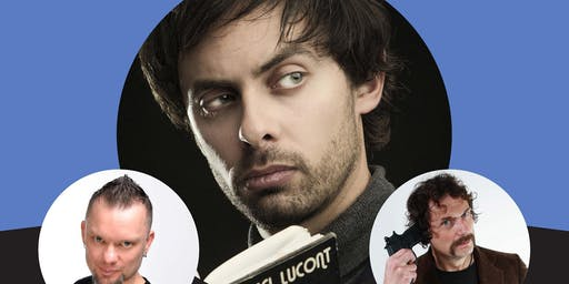 An International Night of Comedy with Marcel Lucont & friends.