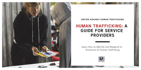 Human Trafficking: A Guide For Service Providers tickets
