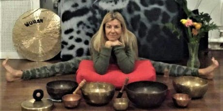 Gong Harmonic Sounds & Gentle, Restorative Yoga with Judith & Andrea   tickets