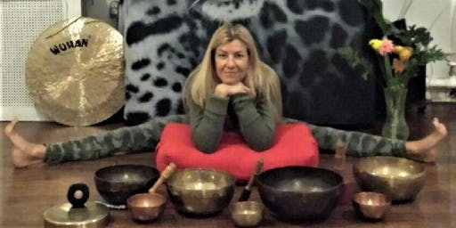 Gong Harmonic Sounds & Gentle, Restorative Yoga with Judith & Andrea