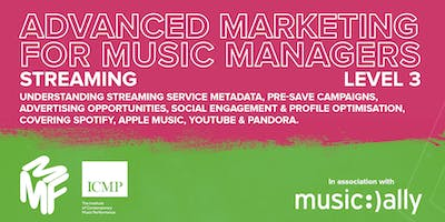 Advanced Marketing For Music Managers - Streaming