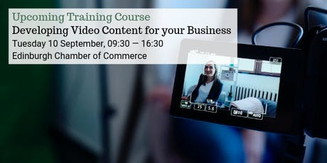 Mastering Video Content for your Business tickets