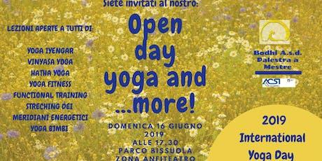 Open day yoga and more! biglietti