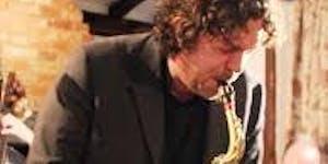 Saxophonist Christian Brewer