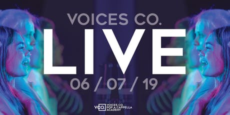Voices Co. LIVE / Aca-Pop  (8:15pm Show) tickets