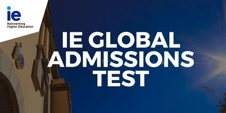 IE Global Admission Test - Tokyo tickets