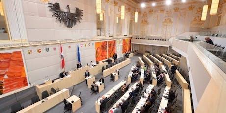 Aus der Reihe – im Österreichischen Bundesrat Tickets