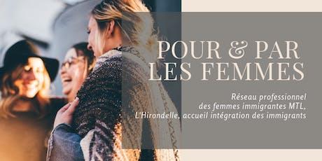 Pour & Par les femmes | Vos droits en matière d'équité salariale tickets