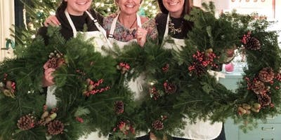 Winter Wreath at Eola Hills Wine Cellars