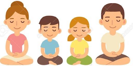 Family Yoga at Earth Fare